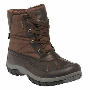 Regatta-Stormfell-Mens-Waterproof-Breathable-Winter-Boots-Brown