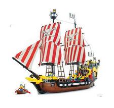 Blocks Pirates of Caribbean BLACK PEARL Ship/Boat enlighten  in bags 870pcs