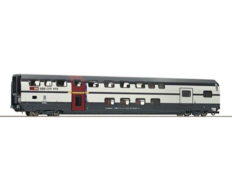 auténtico Roco 64853 doble piso coche 1. 1. 1. clase + serviceabteil la SBB, DC, h0  artículos novedosos