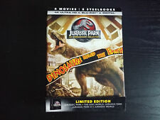 Jurassic Park 25th Anniversary Collection Dvd Steelbook 4k Ultra Hd Blu Ray Only Best Buy For Sale Online Ebay