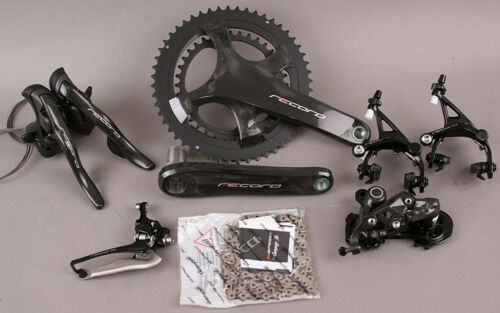2018-19 Campagnolo Record 12 Speed Group Groupset 6 Pieces 175mm Crankset