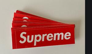 5-Supreme-Red-Box-Logo-Stickers-100-Authentic