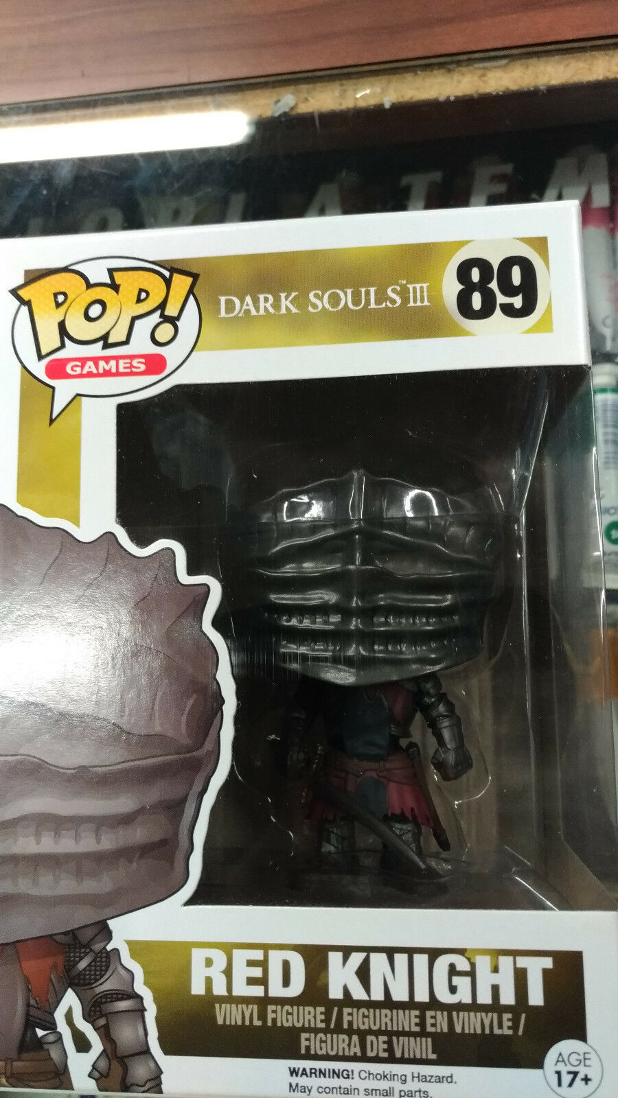 FUNKO - DARK SOULS III - rot Knight  89 - Exclusive NEW RARE
