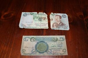 Image Is Loading Iraqi Central Bank Of Iraq One Dinar 25