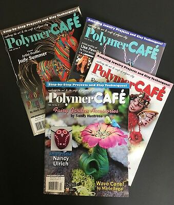 Polymer Cafe Magazines Beads & Jewelry Making Modeling