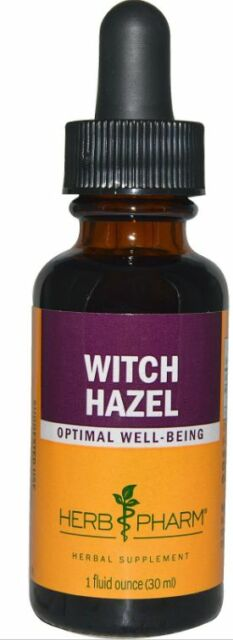NEW HERB PHARM WITCH HAZEL HERBAL OPTIMAL WELL BEING SUPPLEMENT EXTRACT LIQUID
