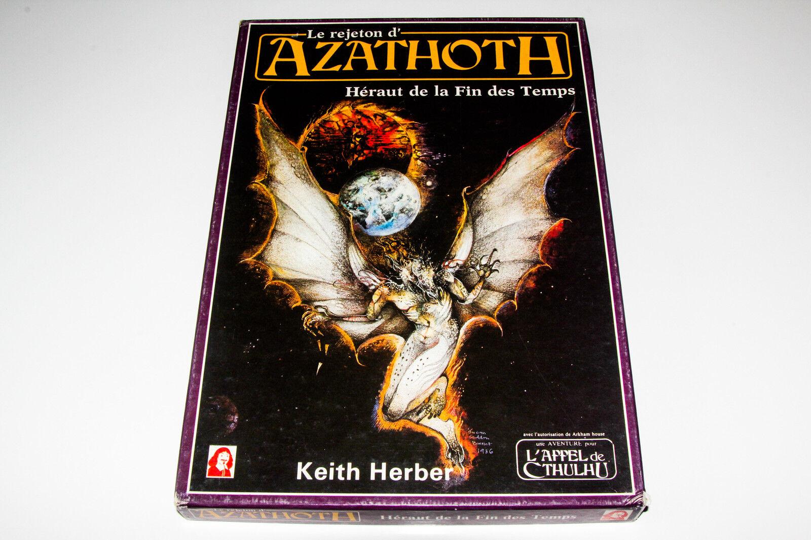 L'APPEL DE CTHULHU - COFFRET LE REJETON D'AZATHOTH - DESCARTES