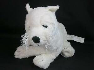 Ikea Sweden Gosig West Highland Terrier White Puppy Dog Plush