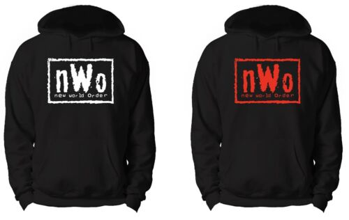 NWO HOODIE WWE WCW ECW TNA WRESTLING NEW WORLD ORDER