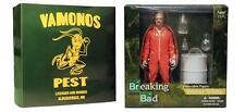Breaking Bad Walter White Orange Hazmat Suit 6 Pulgadas Figura De Acción Nuevo Sellado Mezco