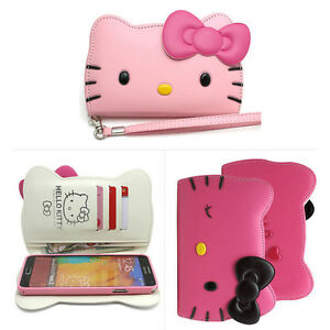 Hello Kitty Iphone  Plus Wallet Case