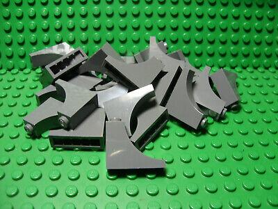 Lego Lot of 25 New Light Bluish Gray Bricks Arches 1 x 3 x 2 Inverted Parts