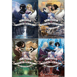 School-for-Good-and-Evil-Series-A-World-Without-Princes-4-Books-Collection-Set