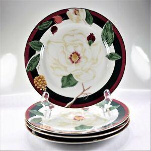 Tienshan-Magnolia-Salad-Plates-Set-of-4-New