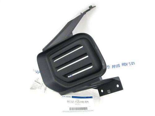2011-2015 Ford F250 Super Duty RH Passenger Bumper Fog Light Lamp Hole Cover OEM