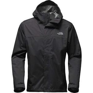 New-Men-039-s-The-North-Face-Venture-2-Jacket-Coat-Waterproof-Grey-Black