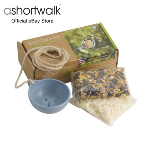 ashortwalk Eco Bird Feeder made from recycled yoghurt pots - DIY Bird Cake Kit