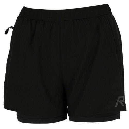 short Laufen Rukka Mahala Blk 2in1 Shorts Run L Schwarz 30460 Neu