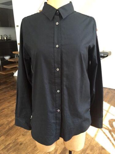 AR Aloha Rag Black Poplin Shirt w/ Eyeleted Fabric