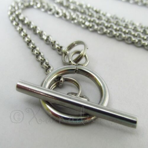 Never Give Up Halskette 304 Edelstahl Personlized Geburtsstein Anhänger