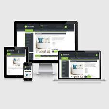 eBay Auktionsvorlage Aquino Grün Responsive Design HTML Template Vorlage
