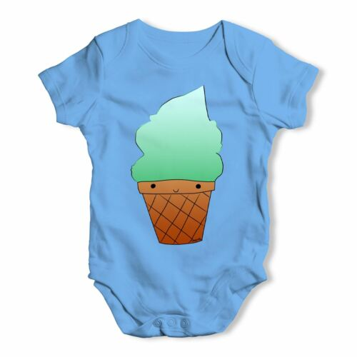 Twisted envy mint ice cream bébé unisexe drôle bébé grandir body