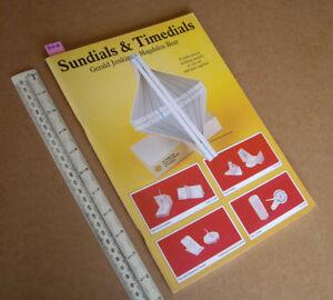 1987 Cadrans Solaires & Timedials Découpe Modèle Livre. Superbe Contenu. Tarquin Pubs-afficher Le Titre D'origine