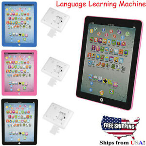 Details about Baby Kids Early Learn Tablet IPAD Educational Toy English  Language Study Machine
