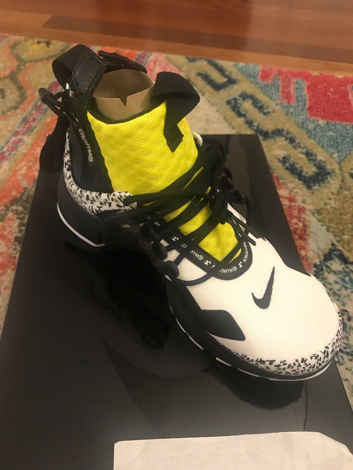 Nike Air Air Air Presto Acronym Dynamic Yellow. Size 5. Style  AH7832-100 33857a