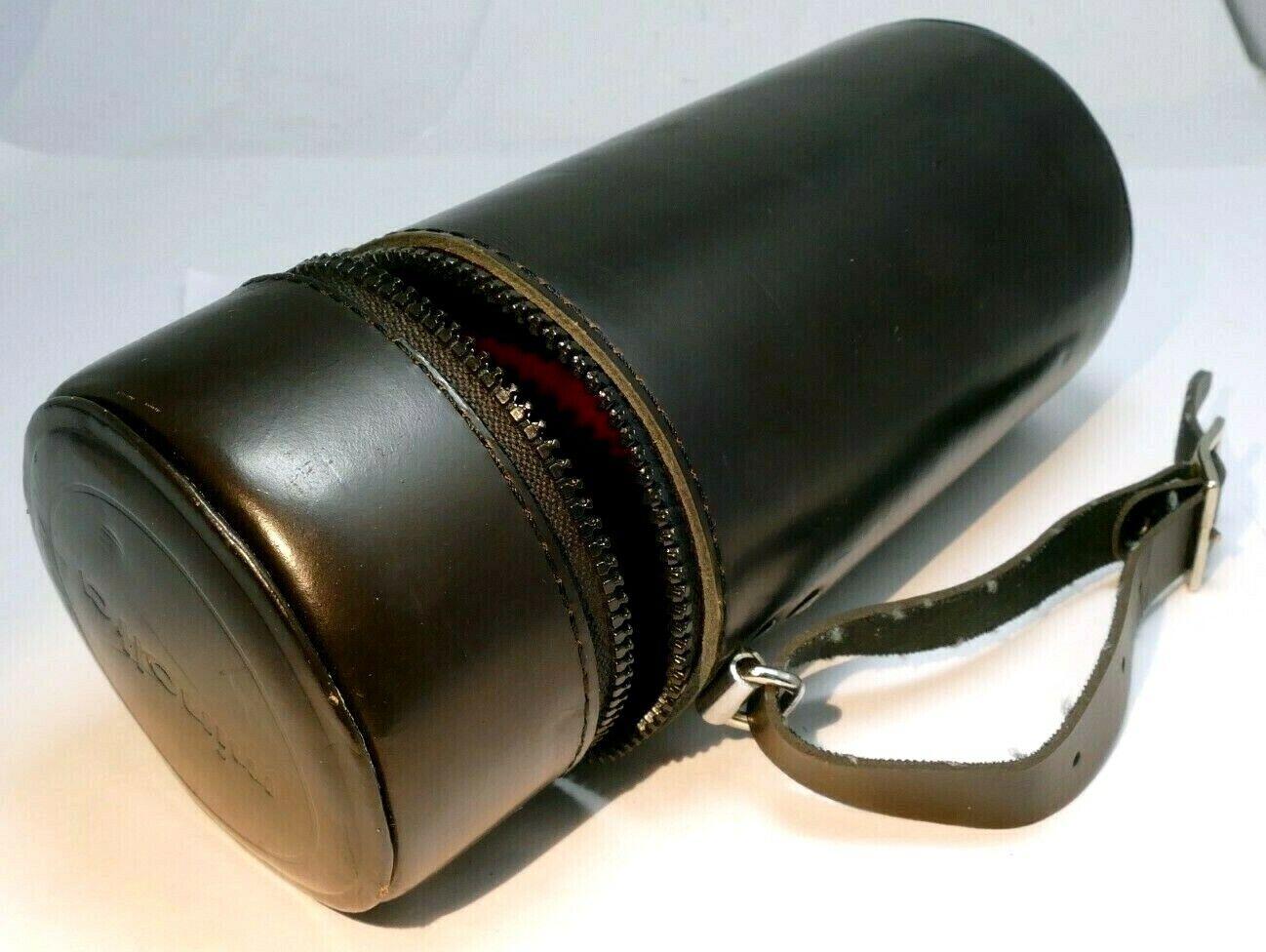 Soft Case Lens Pouch for Minolta 200mm f4.5 MC MD lens 6