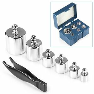Scale Calibration Weights >> Details About Calibration Weights For Precision Digital Pocket Scale Tool Jewellery 5g 500g
