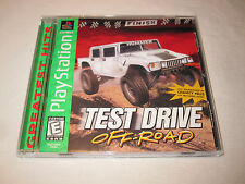Test Drive Off-Road (PlayStation PS1) GH Game Complete Excellent!