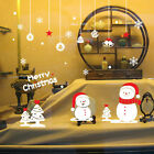 Snowflake Merry Christmas Xmas Snowman Vinyl wall sticker Decals Window decor