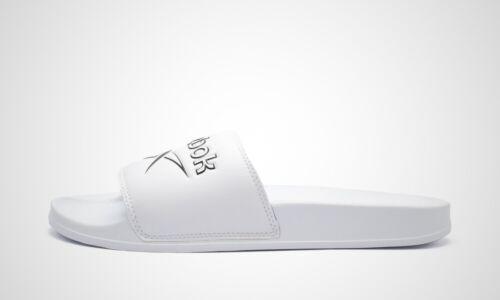 dv4909 Reebok Classic Slide Blanc//Noir Art NEUF dans le carton