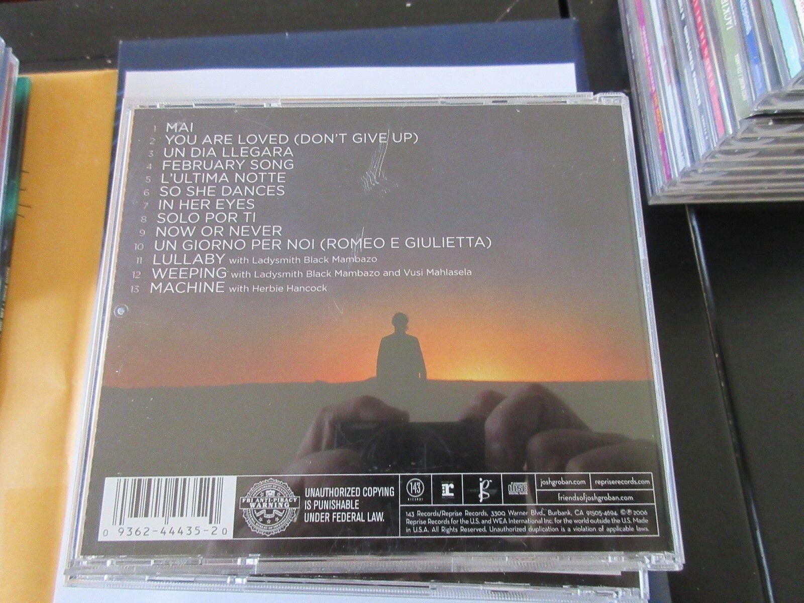 Josh Groban , AWAKE , CD