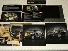 MINI brochure catalogue INSPIRED BY GOODWOOD design Rolls Royce - édition 2012