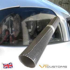 30CM-x-106CM-Headlight-Tint-Perforated-Film-Mesh-Like-Fly-Eye-MOT-Legal-Tinting