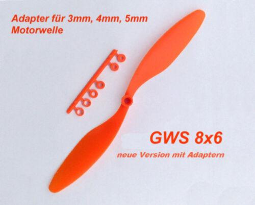 Elica per Shockflyer slowflyer parkflyer GWS 8x6