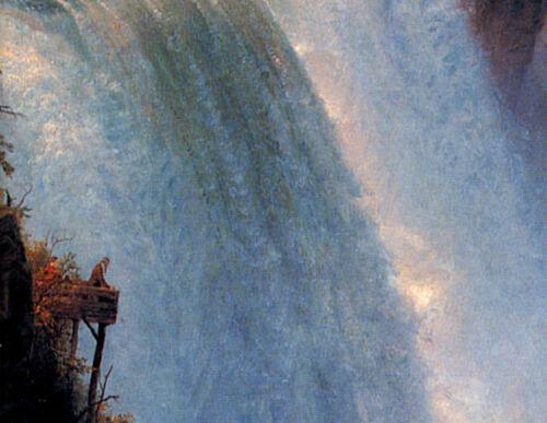 NIAGARA FALLS Buffalo New York Retro Maid o the Mist Travel Poster Art Print 182