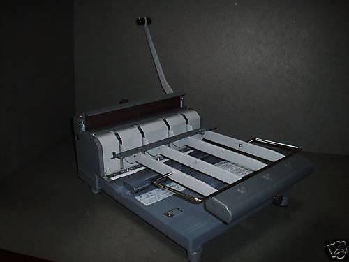 Wire-O Binder*RBX-100*Drahtkammbinder*100 Blatt Stanze!