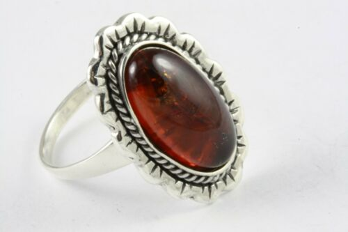 Details about  /Design Amber Ring Amber Silver Ring 925 Genuine Silver //544