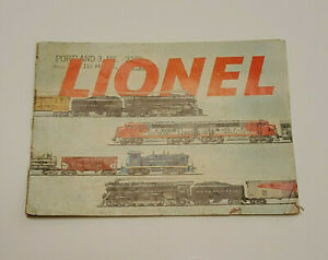 Image Is Loading 1953 LIONEL Vintage Train Book Portland And 3