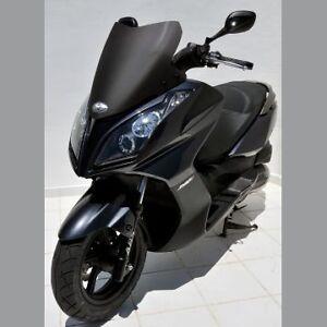 Pare-Brise-Sport-ERMAX-Kymco-125-200-300-DINK-STREET-DOWNTOWN-09-18-Noir-Satin