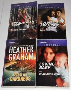 Details about Lot of 4 Harlequin Intrigue romance books all 2018 issue see  below for #'s #618