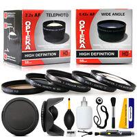 10 Piece Pro Lens Kit For Sony Dsc-h10 Dsc-h5 Dsc-h3 Dsc-h1 Dsc-h2 Dsc-h5 F828