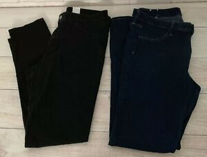 Dark 2 Femmes 34 Jeans H Lot De Taille m Taille Wash Nwot Normale Skinny Ankle WUWBFq8w
