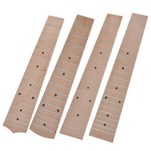 4pcs-Tenor-Concert-Soprano-Fretboard-Fingerboard-Frets-Maple-Ukulele-Parts