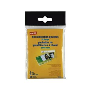 Staples-ID-Tag-Size-Thermal-Laminating-Pouches-5-mil-25-pack-848467