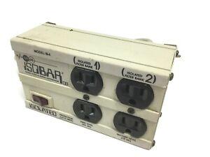 Isobar Ultra 6 Diagnostic Surge Suppressor 6 Outlets 120VAC Voltage