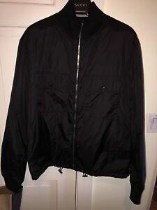 51045b66f Gucci Reversible Bomber Jacket Black/Blue Size 56/XXL *PREOWNED* | eBay